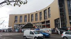 New Railway Station & Hotel under construction, Dundee