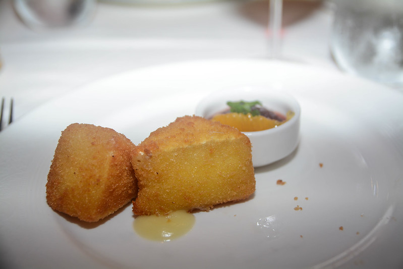 Breaded and Deep Fried Brie