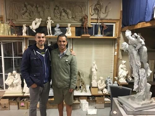 tah sculptor LeRoy Transfield