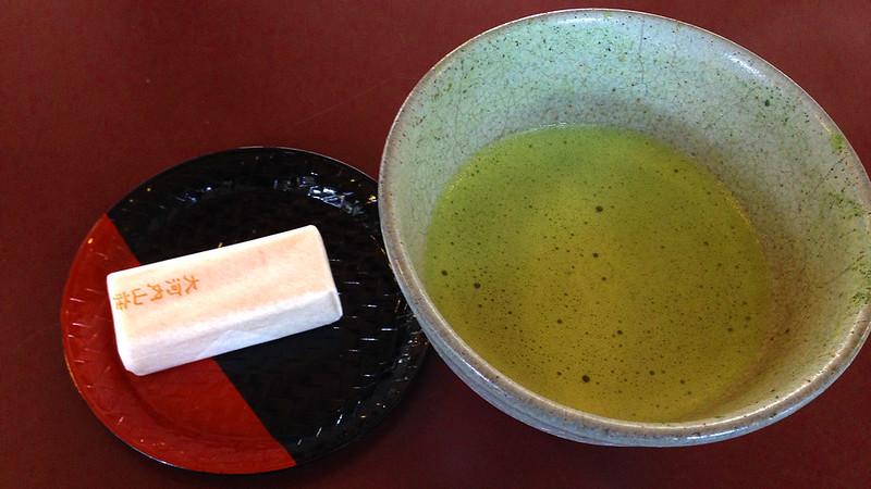 3 Hari Keliling Kyoto - Green Tea Dango