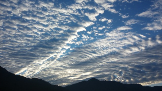 구름 바다 | 아침 하늘 풍경