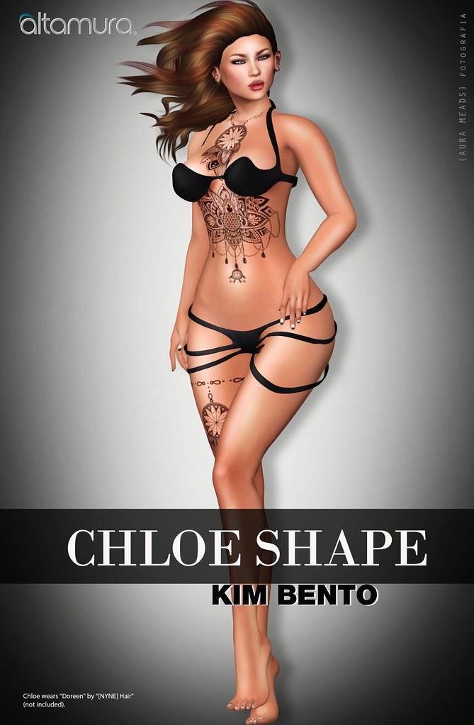Altamura Chloe Shape for Kim Bento @ eBento - TeleportHub.com Live!