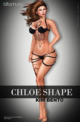 Altamura Chloe Shape for Kim Bento @ eBento