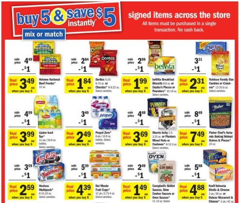 Meijer Instant Savings Deal
