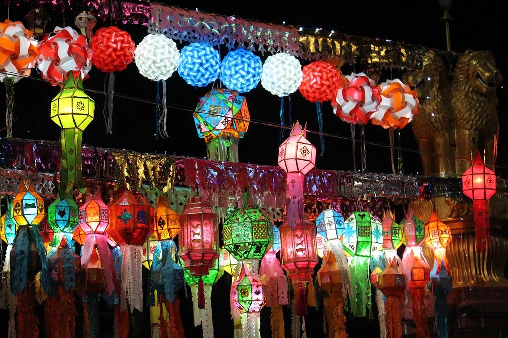Mercado nocturno de Chiang Mai