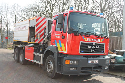 Haakarmvoertuig T818 Brandweer Turnhout