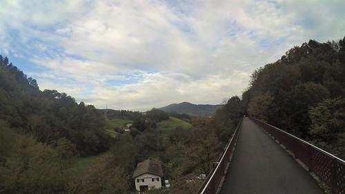 puente  Auzokalte .Leitzaran Andoain