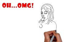 how to drawing - funny dirty drawings surprise - funny drawing videos - drawing dirty 2017