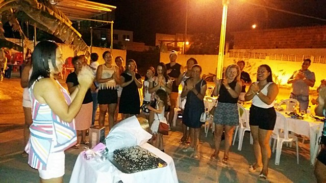Amigos e Familiares celebram o dom da vida de Rosângela Jorge