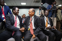 Gas and oil conference in  Juba