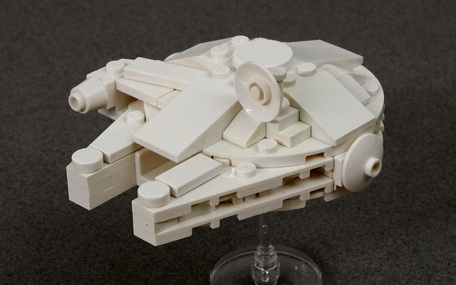 Micro Ghost Millennium Falcon Jk Brickworks