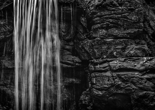 waterfalls nature abstract blackwhite monochrome landscape water rocks texture rough smooth silk natural milky fallingwater wet arkansas