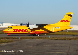 ZS-XCD ATR42 Solenta / DHL