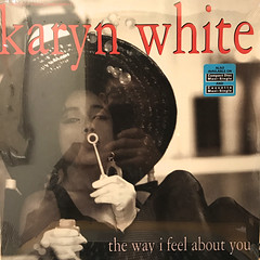 KARYN WHITE:THE WAY I FEEL ABOUT YOU(JACKET A)
