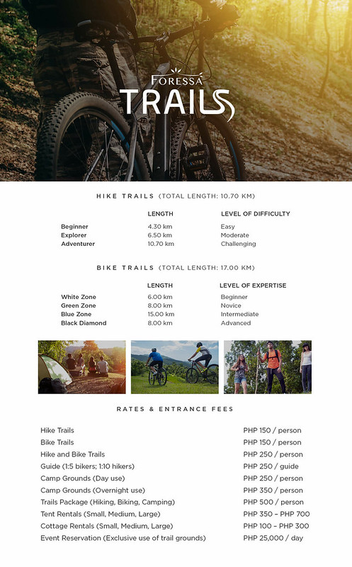 Foressa-Trails - Rates-and-Packages