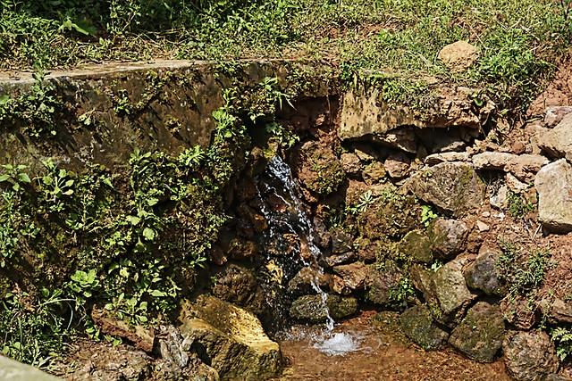 A spring at Khalabari village.