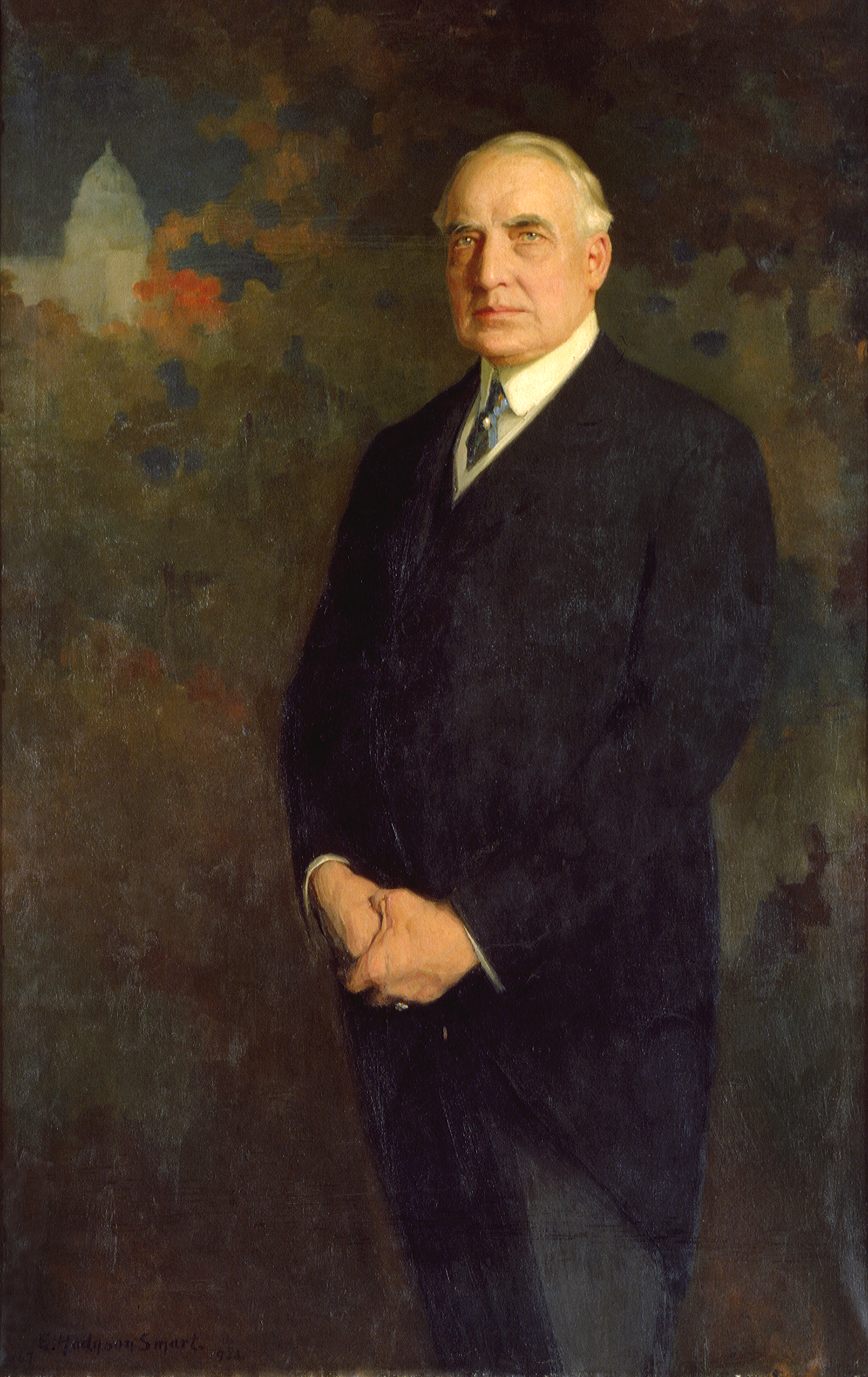 Official portrait of Warren G. Harding
