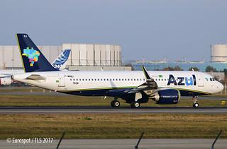 F-WWBJ A320 AZUL