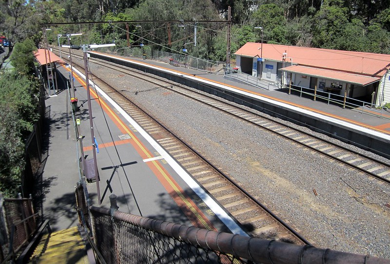 Heyington Station