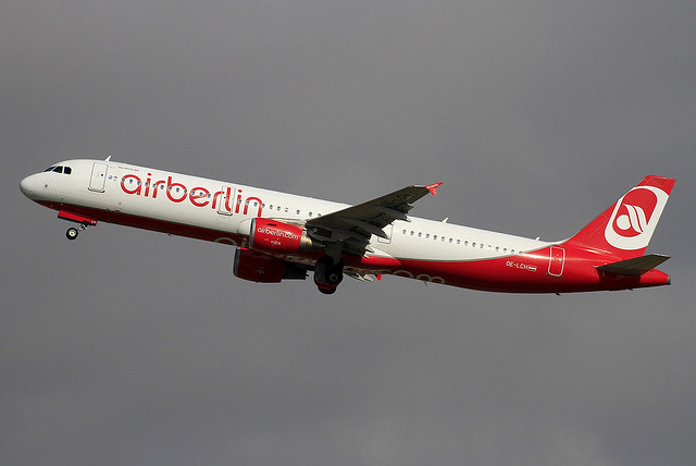 OE-LCH. A-321. Air Berlin. PMI.