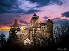 "Bran Castle, Transylvania, Romania, known as ""Dracula's Castle""."