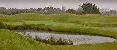 The threat of a misty day a St Mellion