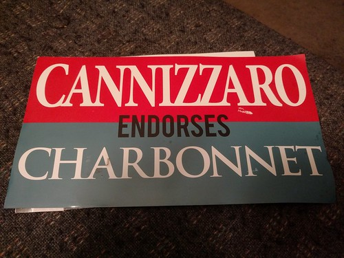 Cannizzaro endorses Charbonnet