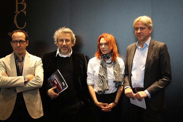 Burhan Sönmez, Can Dündar, Asli Erdogan, Juergen Boos - Foire du Livre de Francfort 2017