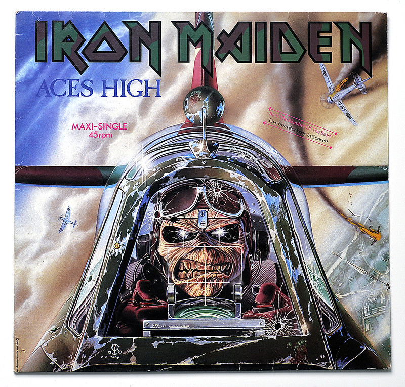 A0428 IRON MAIDEN Aces High