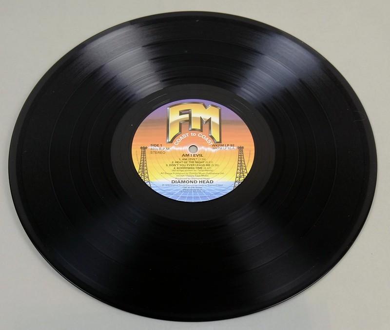 """DIAMOND HEAD ?AM I EVIL 12"""" LP ALBUM VINYL"""