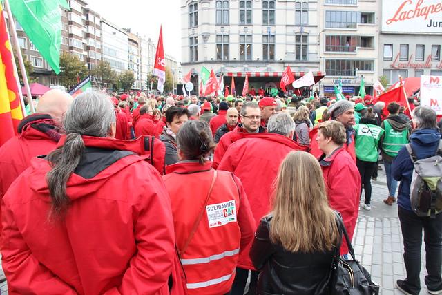 10.000 personnes ont marché pour la solidarité dans les rues de Charleroi.