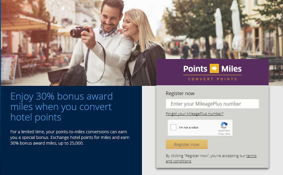 United Hotel Bonus