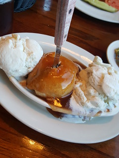 apple dumpling at Apple Farm Inn