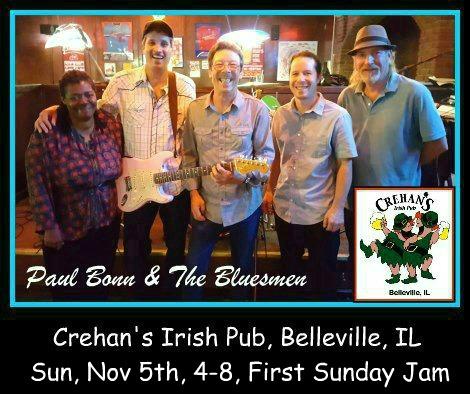 Paul Bonn & The Bluesmen 11-5-17