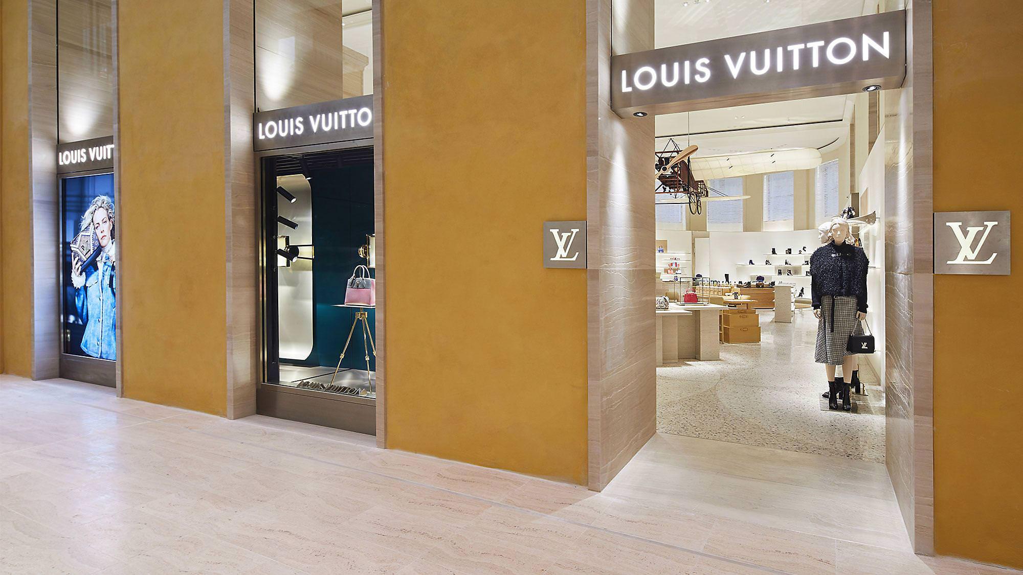La Nuova Boutique Louis Vuitton Roma Rinascente