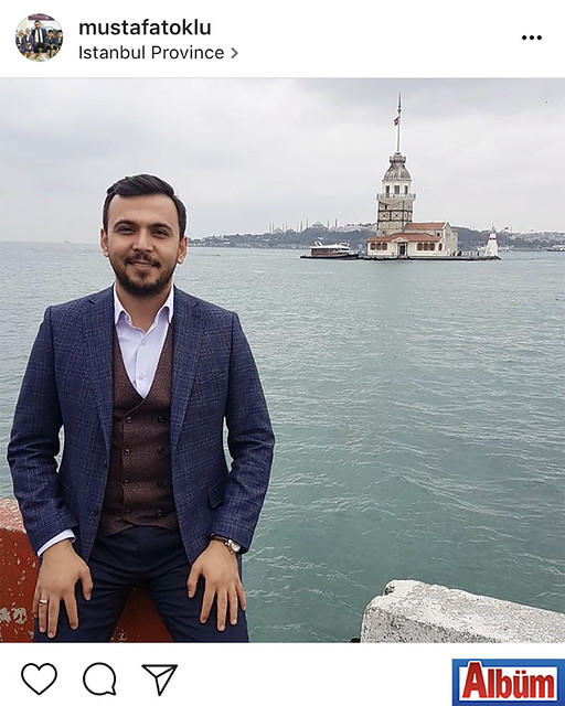 Toklu Mimarlık sahibi Mimar Mustafa Toklu, Kız Kulesi manzarasında çektirdiği bu fotoğrafla beğeni topladı.