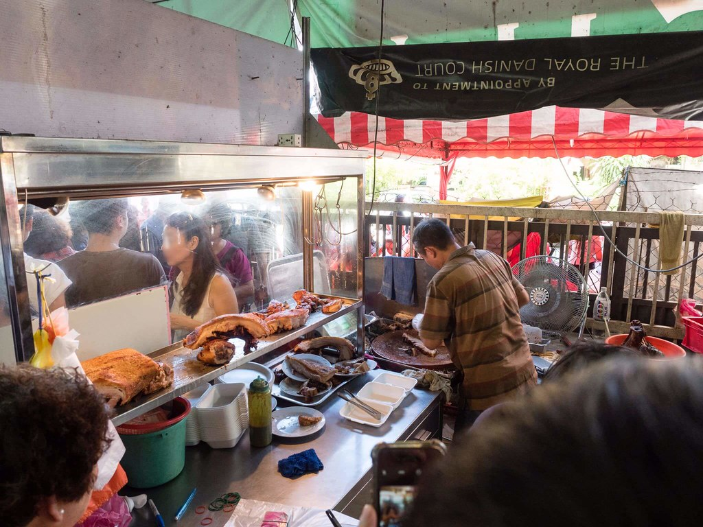 Roasted Pork Stall at Dai Shu Geok (Big Tree Foot)