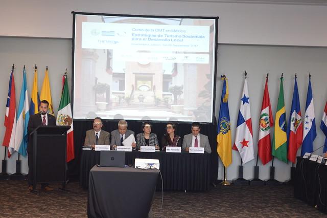 """Curso de la OMT en México sobre """"Estrategias de Turismo Sostenible para el Desarrollo Local"""", Guadalajara, Estado de Jalisco, México, 4-8 de Septiembre 2017"""