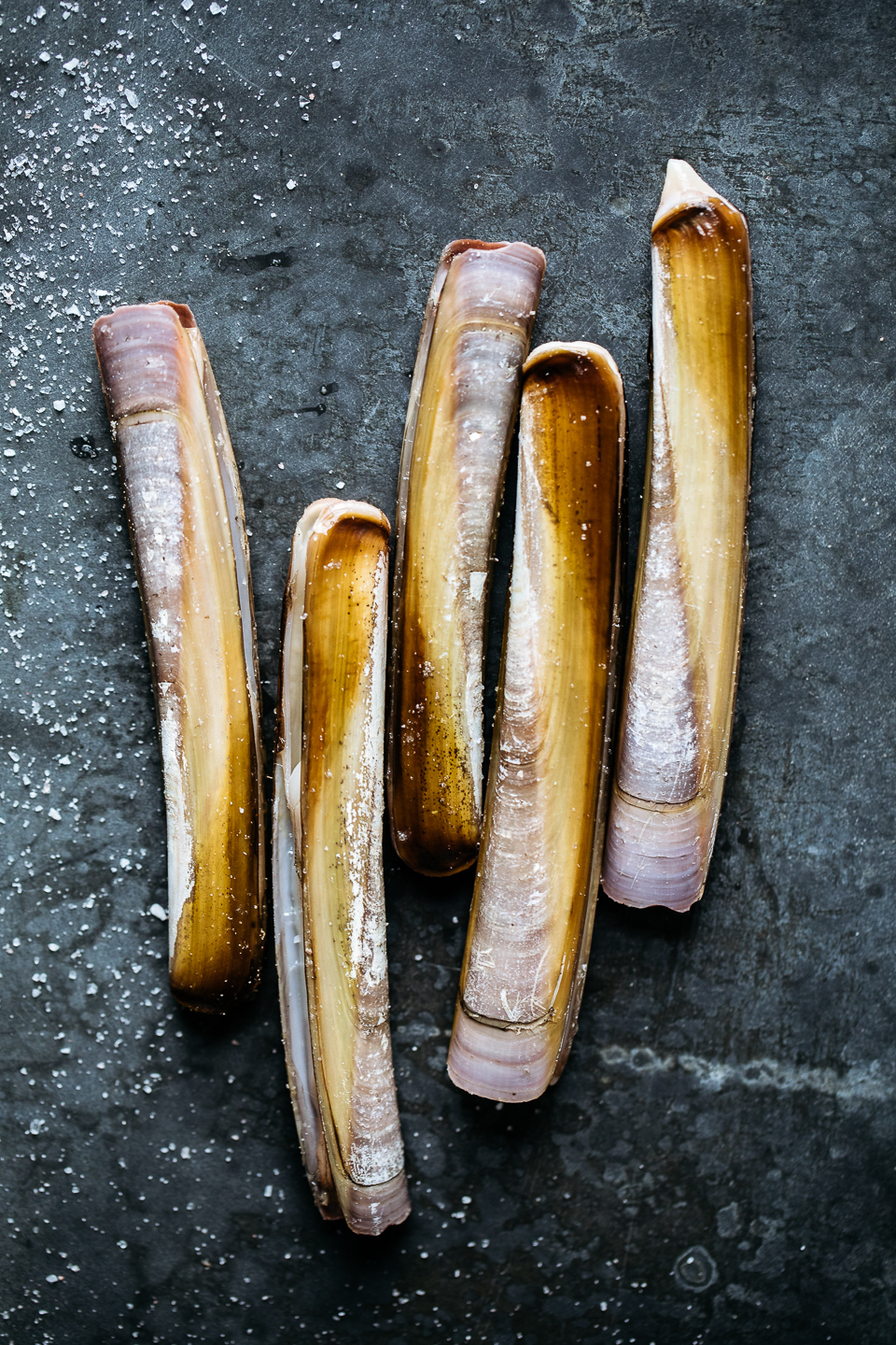 Razor Clams with Chile-Lime Vinaigrette
