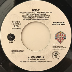 ICE-T:COLORS(LABEL SIDE-A)