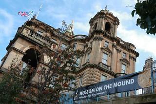 Museum on the Mound Edinburgh, Scotland