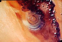 Richat Structure in Mauritania, variant