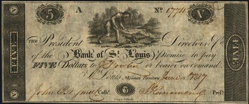 """Territorial Bank """"Beaver Bill"""""""