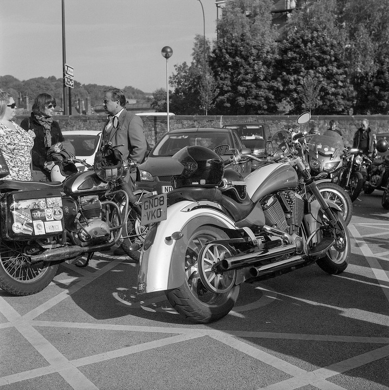 FILM - Distinguished Gentleman's Ride, Sheffield 2017-11