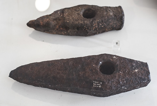 Roman iron hammers (mallei) from Mina dos Mouros, Campo de Jales