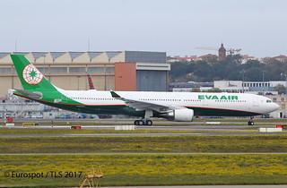 F-WWYA Airbus A330 Eva Air