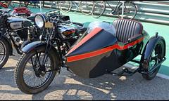 Gilera 500cc & Side car