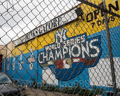Yankees World Series Champions Mural at 1331 Jerome Avenue, Bronx, New York City