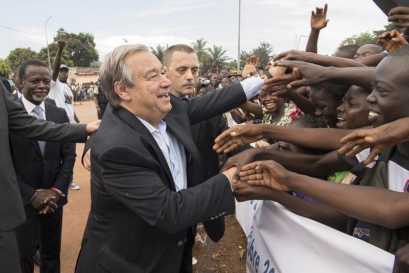 Visit to Central African Republic