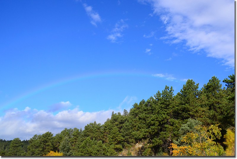 Rainbow along US 285 Hwy (1)